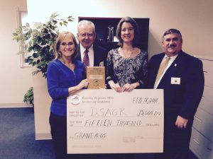 KOVAR awarded a grant of $15,000 to Down Syndrome Association of Greater Richmond (DSAGR)