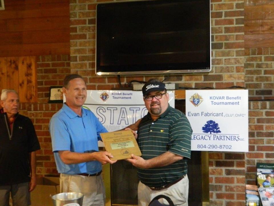 Council 11042 KOVAR Benefit Golf Tournament-1